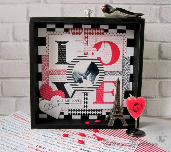 LOVE Framed Art
