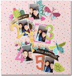 Numbers Scrapbook Layout