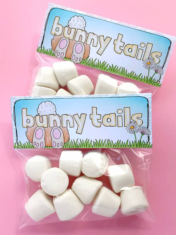 Easter Treat Bag Topper Printables