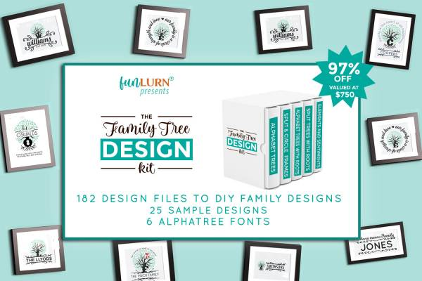 Family Tree Design Kit