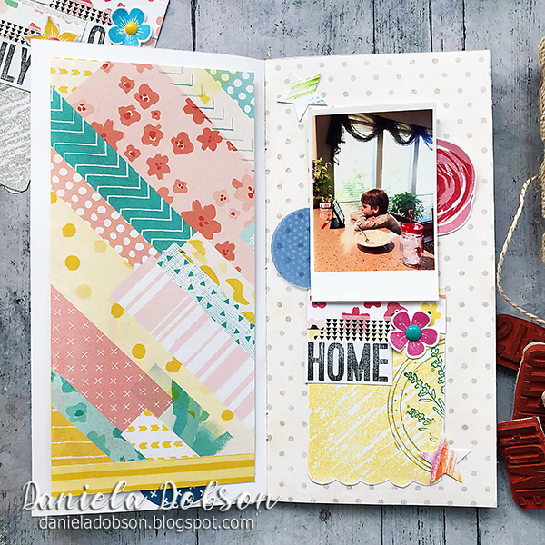Stamped Journaling Cards