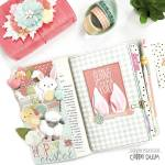 Easter Traveler's Notebook Layout and Printables