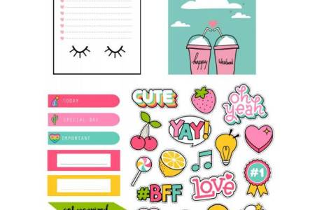 Trendy Planner Accent Downloads