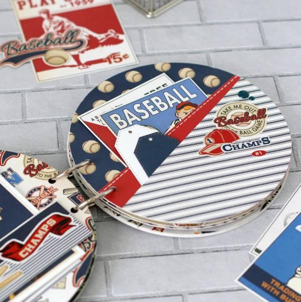 Baseball Shaped Mini Album