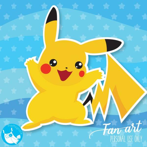 Pikachu Pokemon Clip Art