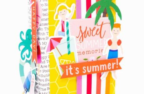 DIY Summer Mini Album