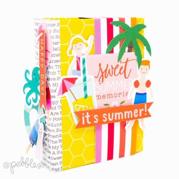 DIY Summer Mini Album