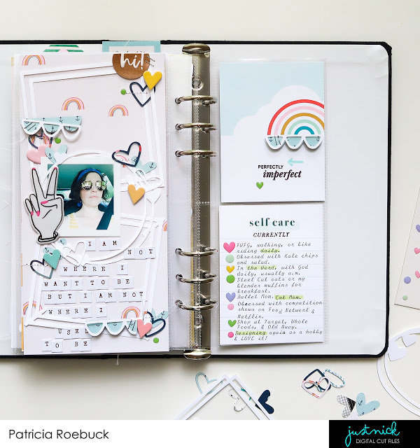 Trendy Traveler's Notebook Pages