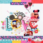 Disney Love Layout