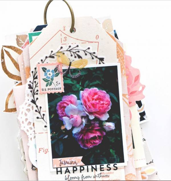 Garden Tags Mini Album