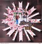 Fishtails and Florals Layout