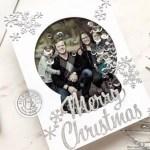 Snow Globe Photo Shaker Card