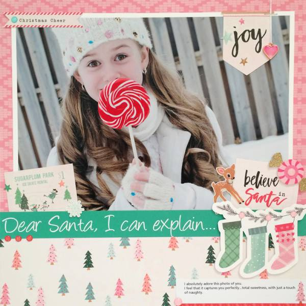 Dear Santa Layout