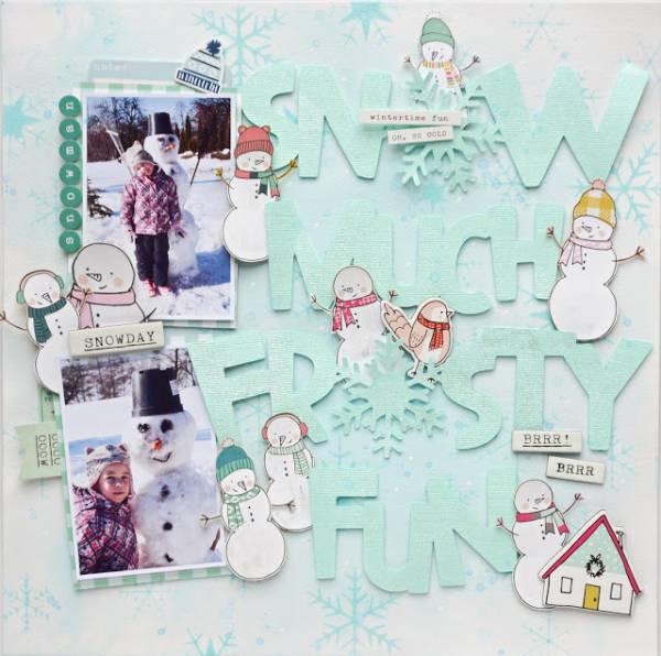 Snowman Layout