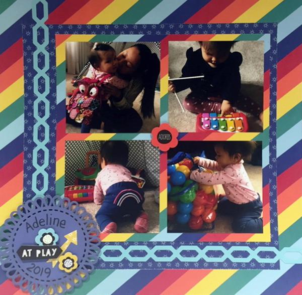 Rainbow Baby Layout