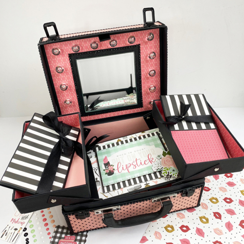 Make Up Suitcase and Mini Albums