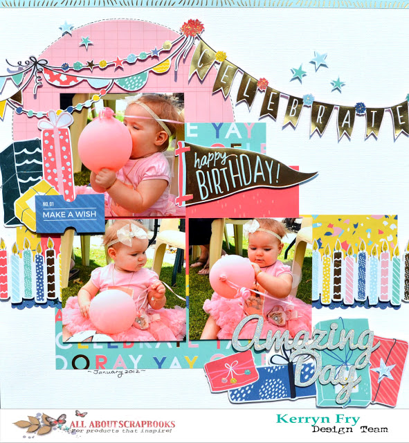 Birthday Baby Layout