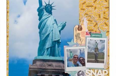 Statue of Liberty Layout