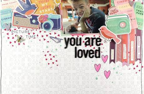 You Are Loved Layout