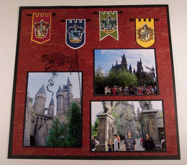 Scrapbook Theme: Harry Potter