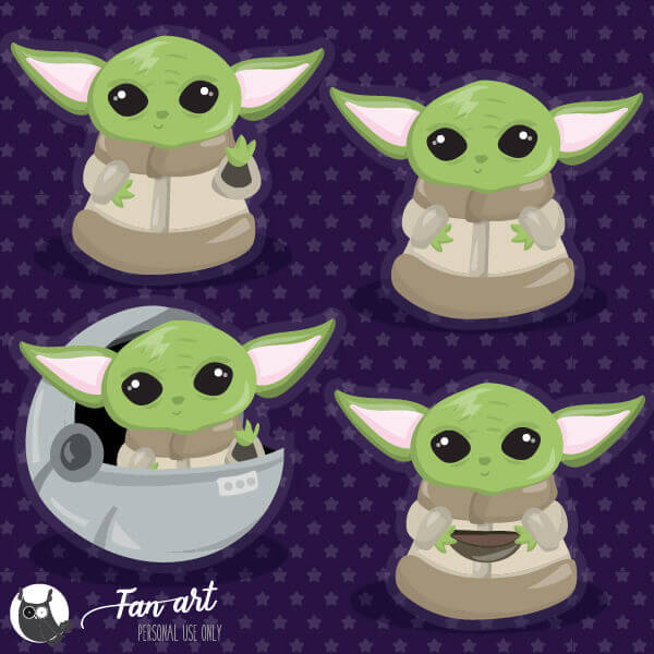 Baby Yoda Freebies