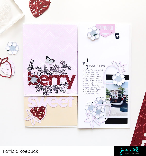 Berry Sweet Traveler's Notebook Pages