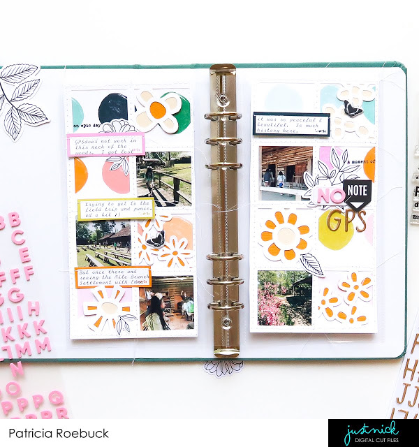 Window Frame Traveler's Notebook Pages