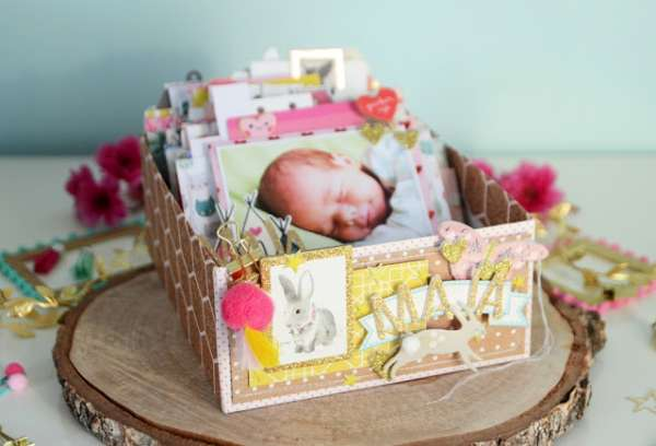 Baby Album in a Box