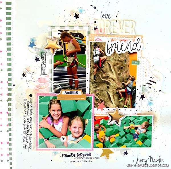 Best Friends Forever Layout