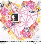 Shimmer Heart Layout