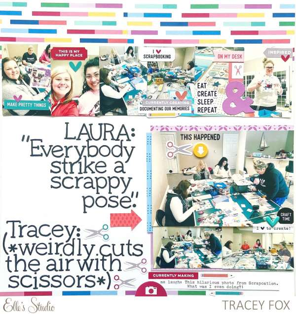 Scrapbook Crop Layout