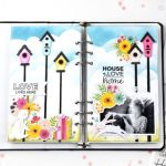 Birdhouse Travelers Notebook Pages