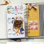 Cake Traveler's Notebook Page
