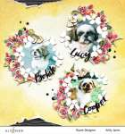 Floral Wreaths Pet Layout