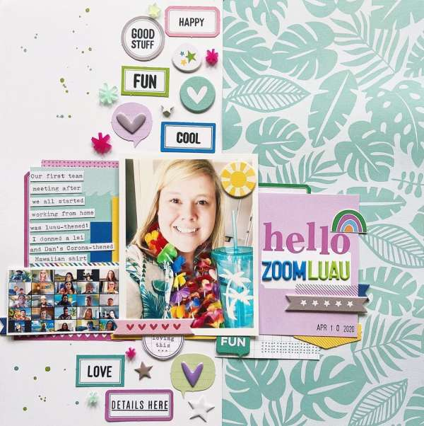 Zoom Luau Layout