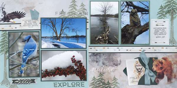 8 Great Outdoors Layouts