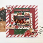 Gingerbread Scrapbook Layout