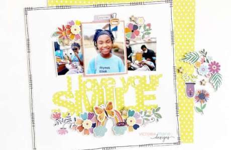 Love Your Smile Layout