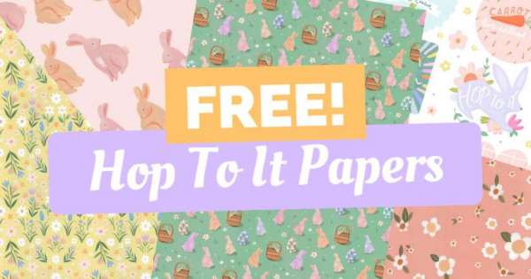 Free Spring and Easter Papers