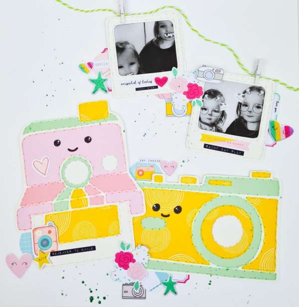 Cute Cameras Layout