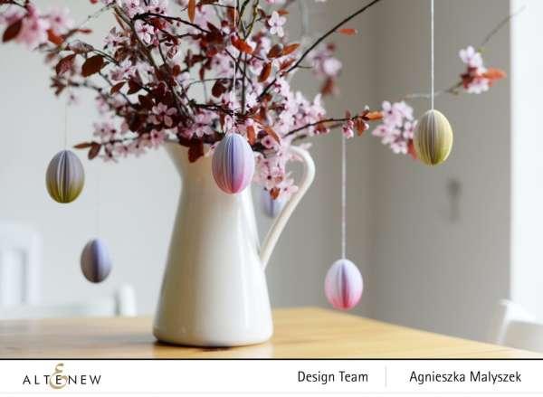 Paper Easter Egg Ornaments