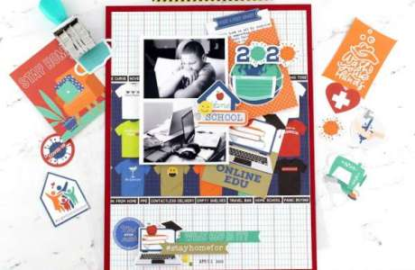 At Home Learning Layout