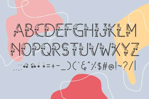 Free Cherry Font