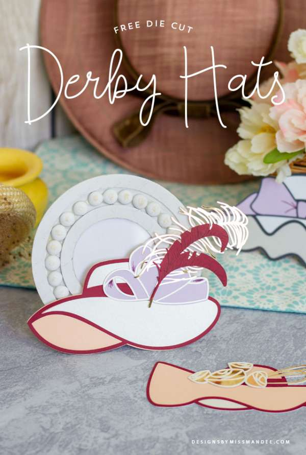 Derby Hats Die Cut Files
