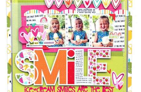 Ice Cream Smile Layout