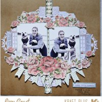 Roses and Lace Layout