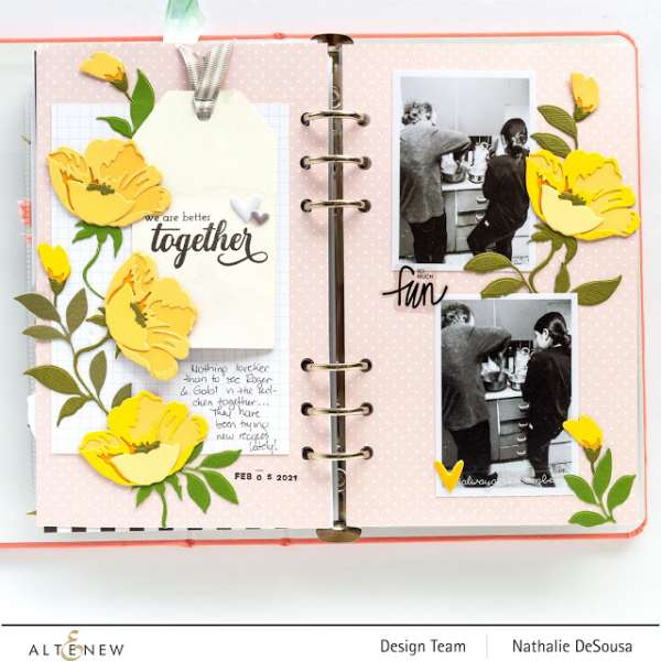 Buttercup Traveler's Notebook Pages