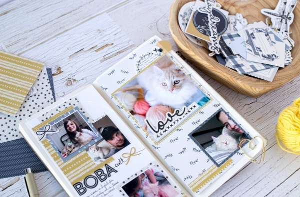 Kitten Traveler's Notebook Pages