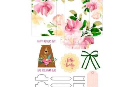 Mother's Day Gift Bag Printable