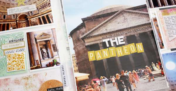 Panorama Scrapbook Pages